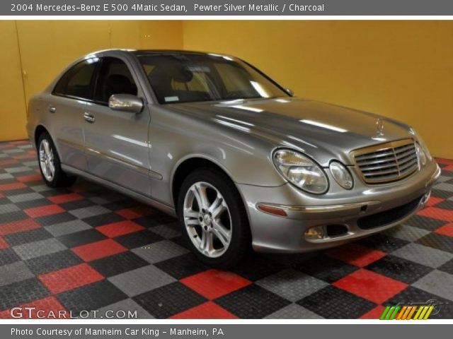 2004 Mercedes-Benz E 500 4Matic Sedan in Pewter Silver Metallic