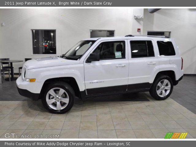 bright white 2011 jeep patriot latitude x dark slate. Black Bedroom Furniture Sets. Home Design Ideas