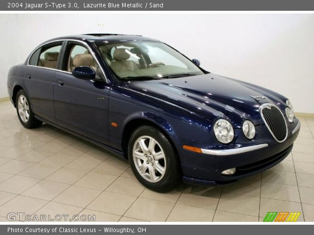 2004 jaguar s type 3 0 in lazurite blue metallic click to see large. Black Bedroom Furniture Sets. Home Design Ideas
