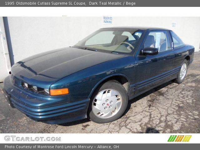 1995 Oldsmobile Cutlass Supreme SL Coupe in Dark Teal Metallic