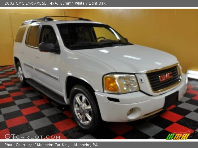 summit white 2003 gmc envoy xl slt 4x4 light oak. Black Bedroom Furniture Sets. Home Design Ideas