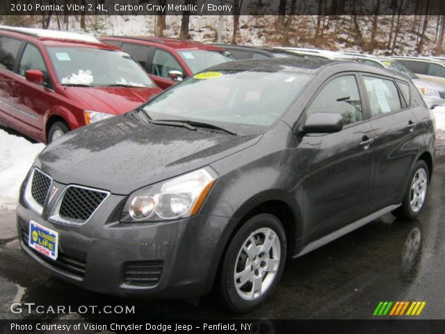 2010 Pontiac Vibe 2.4L in Carbon Gray Metallic
