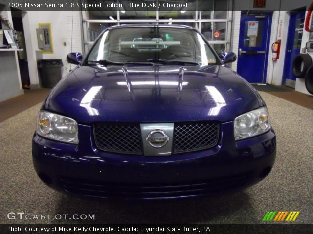 blue dusk 2005 nissan sentra 1 8 s special edition. Black Bedroom Furniture Sets. Home Design Ideas