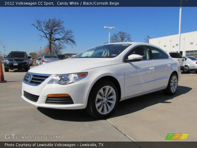 candy white 2012 volkswagen cc sport black cornsilk beige interior vehicle. Black Bedroom Furniture Sets. Home Design Ideas