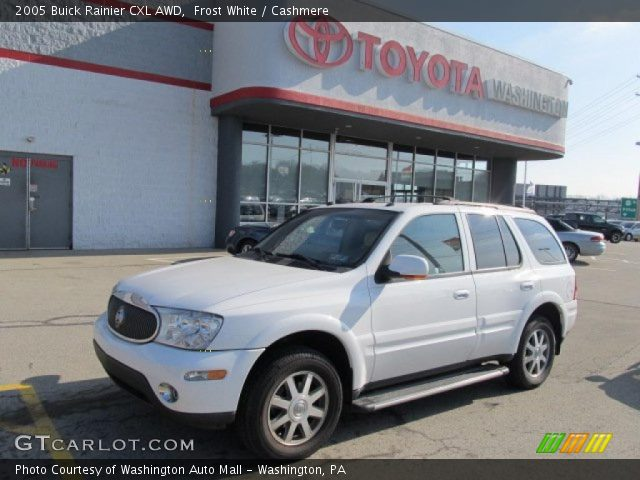 2005 Buick Rainier CXL AWD in Frost White