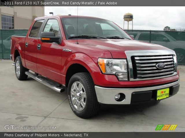 red candy metallic 2011 ford f150 xlt supercrew pale adobe interior vehicle. Black Bedroom Furniture Sets. Home Design Ideas