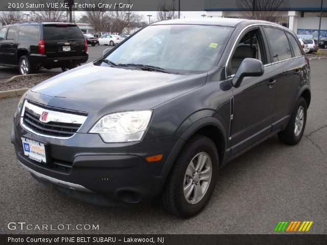 techno gray 2010 saturn vue xe gray interior vehicle archive 46243718. Black Bedroom Furniture Sets. Home Design Ideas