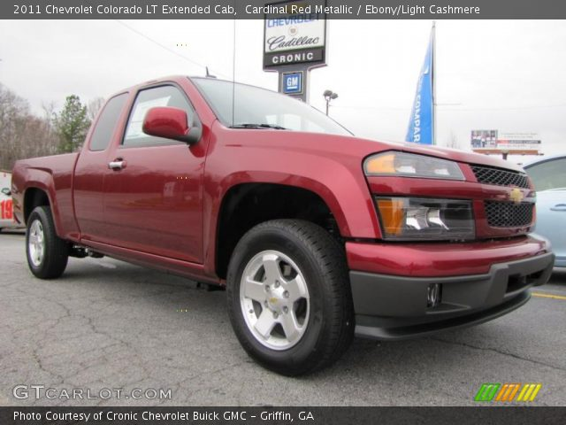 cardinal red metallic 2011 chevrolet colorado lt. Black Bedroom Furniture Sets. Home Design Ideas