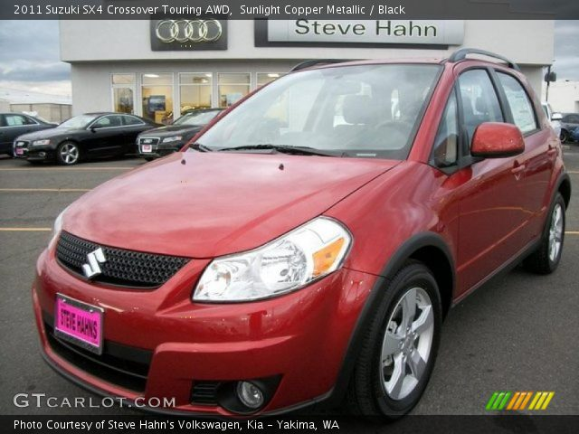 2011 Suzuki SX4 Crossover Touring AWD in Sunlight Copper Metallic