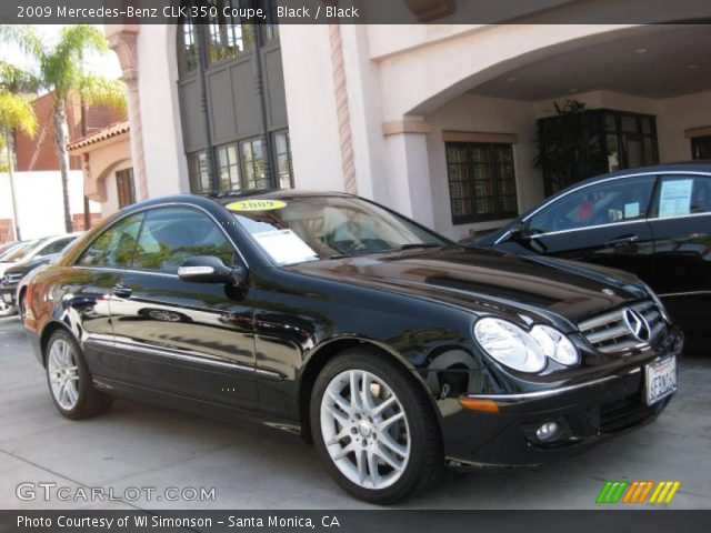 2009 Mercedes-Benz CLK 350 Coupe in Black