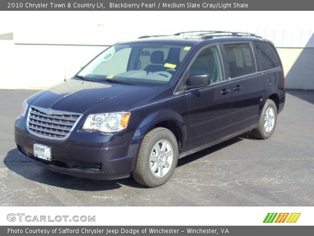 2010 Chrysler Town & Country LX in Blackberry Pearl