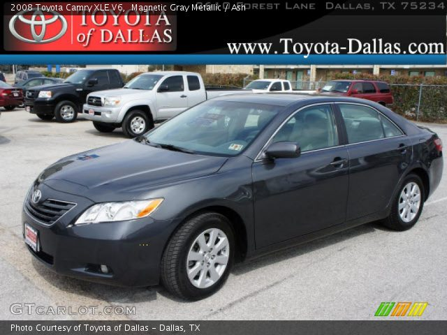 magnetic gray metallic 2008 toyota camry xle v6 ash. Black Bedroom Furniture Sets. Home Design Ideas