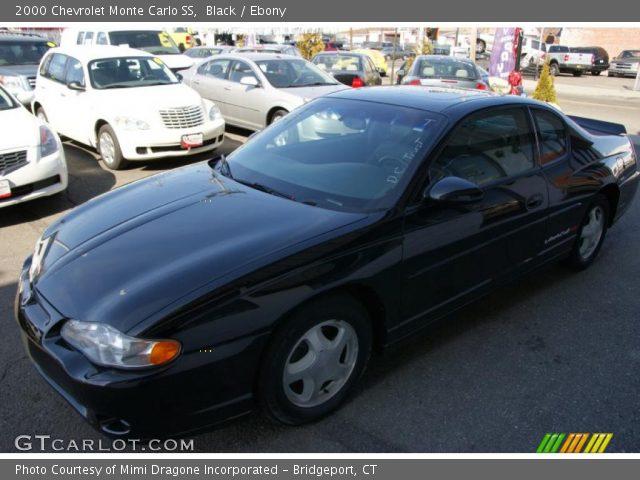 black 2000 chevrolet monte carlo ss ebony interior vehicle archive 46344840. Black Bedroom Furniture Sets. Home Design Ideas