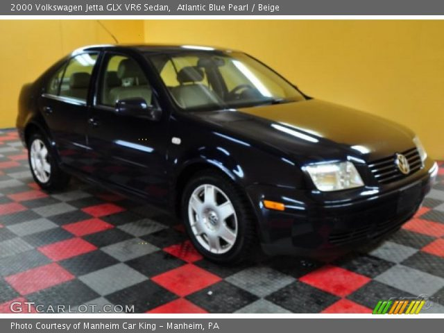 atlantic blue pearl 2000 volkswagen jetta glx vr6 sedan. Black Bedroom Furniture Sets. Home Design Ideas
