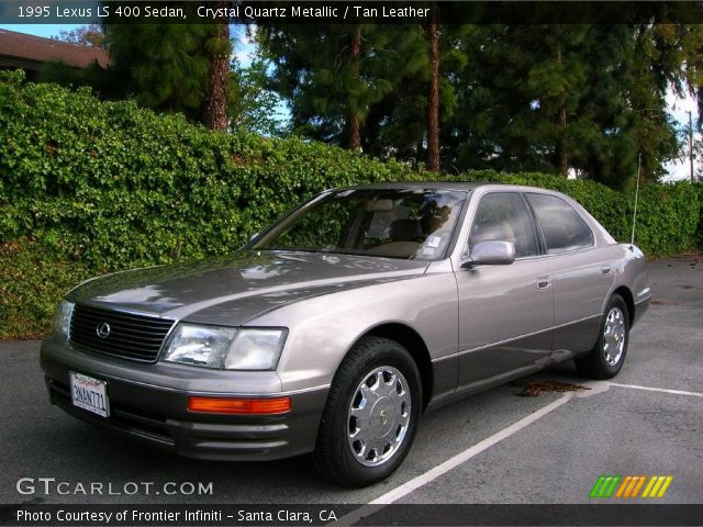 crystal quartz metallic 1995 lexus ls 400 sedan tan. Black Bedroom Furniture Sets. Home Design Ideas