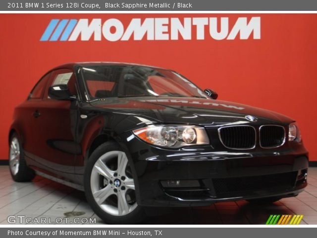 Bmw 128i Coupe Black. BMW 1 Series 128i Coupe