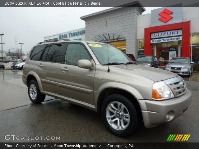 2004 Suzuki XL7 LX 4x4 in Cool Beige Metallic