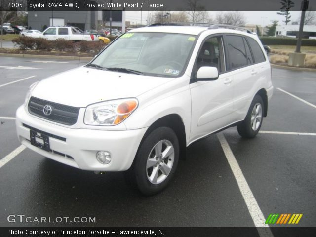 frosted white pearl 2005 toyota rav4 4wd taupe. Black Bedroom Furniture Sets. Home Design Ideas