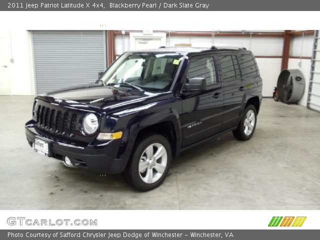 blackberry pearl 2011 jeep patriot latitude x 4x4 dark. Black Bedroom Furniture Sets. Home Design Ideas
