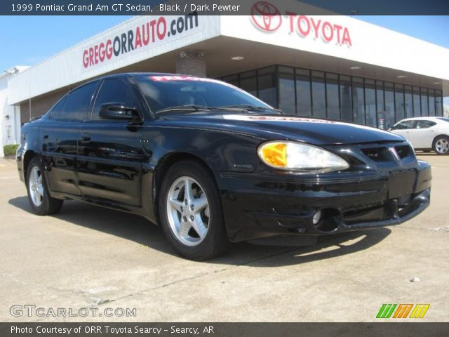 black 1999 pontiac grand am gt sedan dark pewter interior gtcarlot com vehicle archive 46500290 gtcarlot com