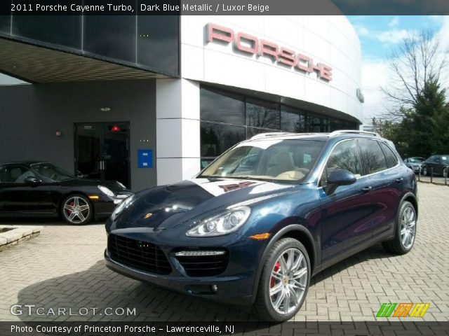 2011 Porsche Cayenne Turbo in Dark Blue Metallic