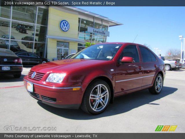 Spice Red Metallic - 2004 Volkswagen Jetta Gls Tdi Sedan