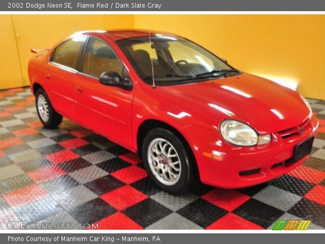 flame red 2002 dodge neon se dark slate gray interior. Black Bedroom Furniture Sets. Home Design Ideas