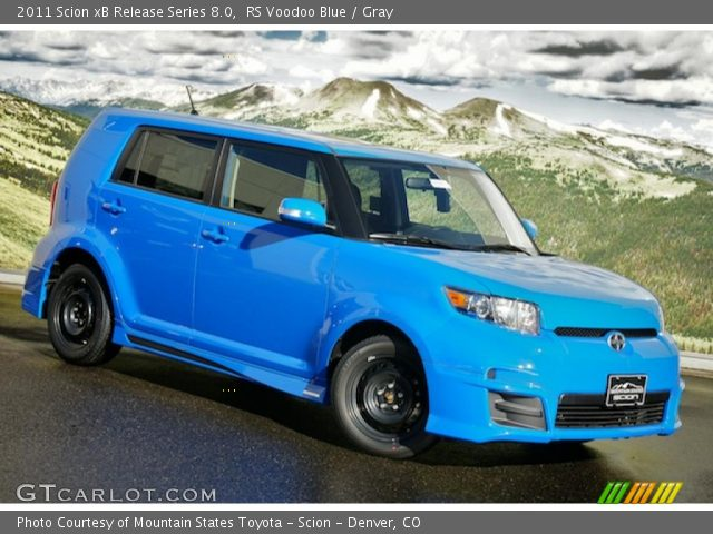2011 Scion xB Release Series 8.0 in RS Voodoo Blue