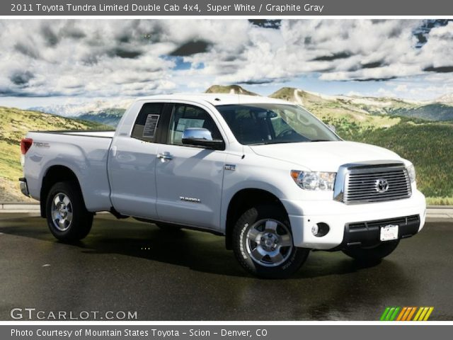 2011 Toyota Tundra Limited Double Cab 4x4 in Super White