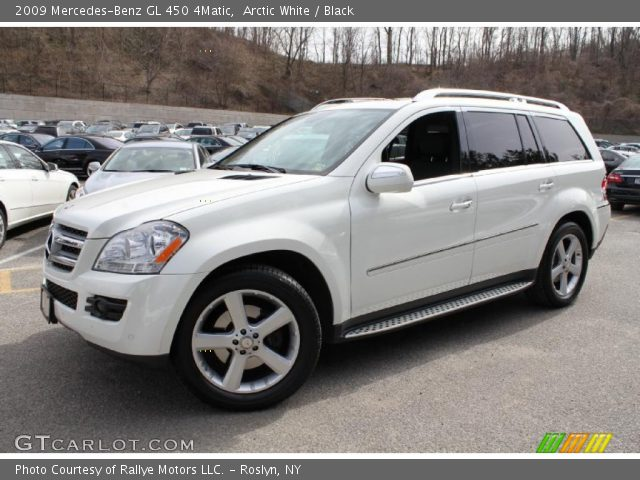 Arctic white 2009 mercedes benz gl 450 4matic black for 2009 mercedes benz gl550 4matic