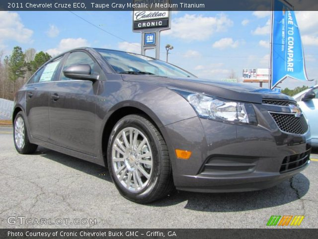 2011 Chevrolet Cruze ECO in Taupe Gray Metallic