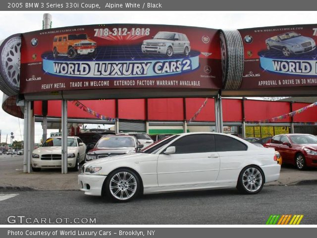 2005 BMW 3 Series 330i Coupe in Alpine White