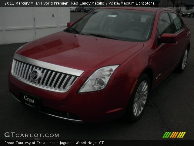 2011 Mercury Milan Hybrid Premier in Red Candy Metallic