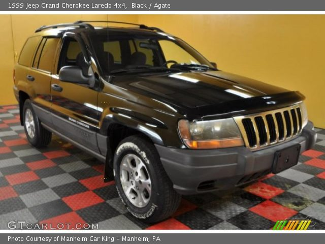 black 1999 jeep grand cherokee laredo 4x4 agate interior vehicle archive. Black Bedroom Furniture Sets. Home Design Ideas