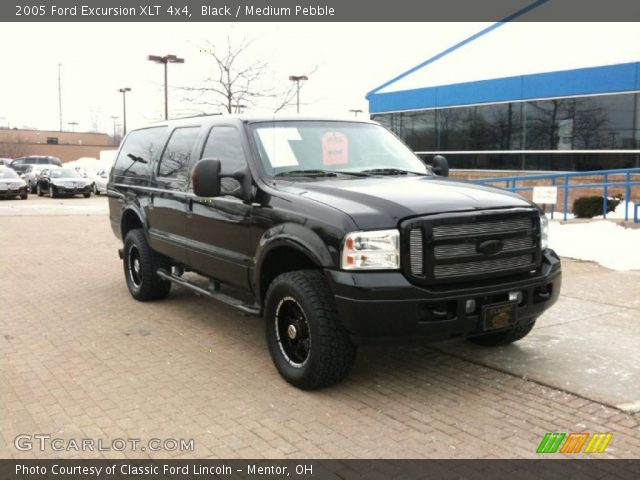 Black 2005 Ford Excursion Xlt 4x4 Medium Pebble