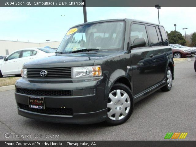 2004 Scion xB  in Camouflage
