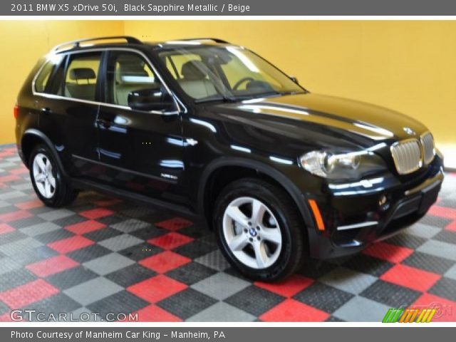 black sapphire metallic 2011 bmw x5 xdrive 50i beige. Black Bedroom Furniture Sets. Home Design Ideas