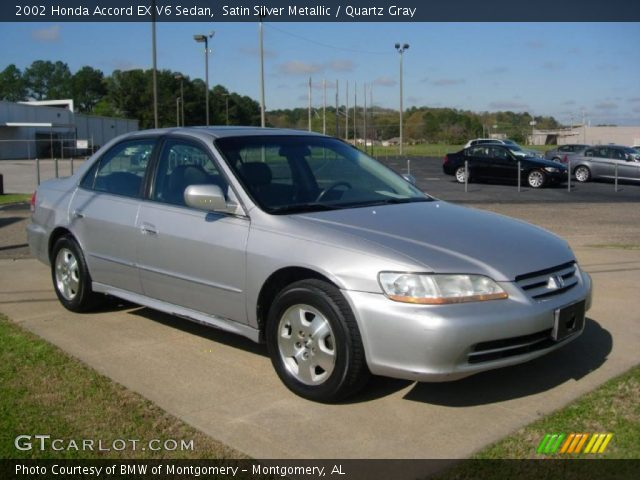 2002 Honda Accord EX V6 Sedan in Satin Silver Metallic