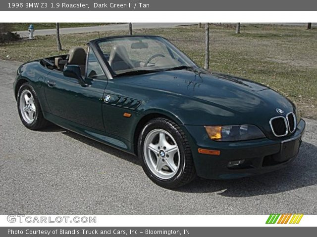 1996 bmw z3 19 roadster in dark green ii black interior 1996 bmw z3