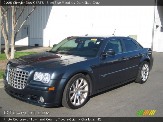 steel blue metallic 2008 chrysler 300 c srt8 dark. Black Bedroom Furniture Sets. Home Design Ideas