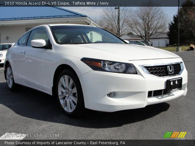 taffeta white 2010 honda accord ex l v6 coupe ivory. Black Bedroom Furniture Sets. Home Design Ideas