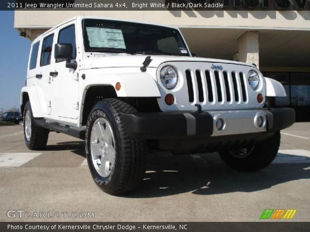 2011 Jeep Wrangler Unlimited Sahara White. Bright White 2011 Jeep