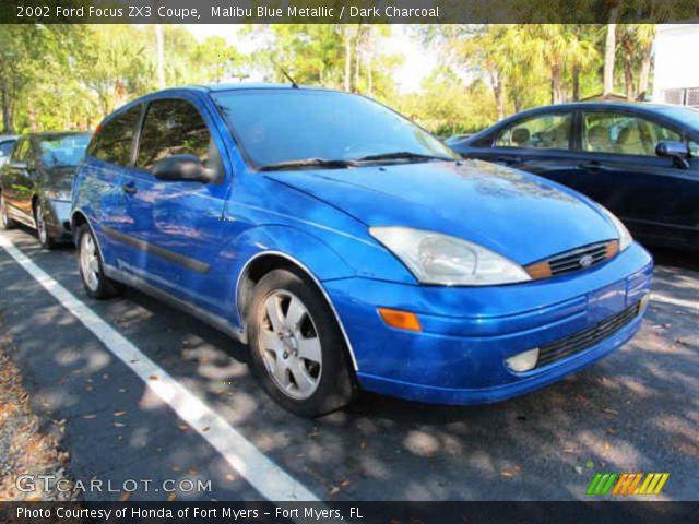 malibu blue metallic 2002 ford focus zx3 coupe dark. Black Bedroom Furniture Sets. Home Design Ideas