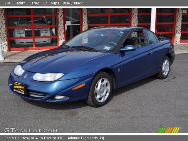 2001 Saturn S Series SC2 Coupe in Blue