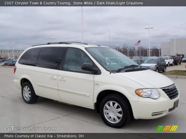 Stone white 2007 chrysler town country touring dark for Stone s town country motors