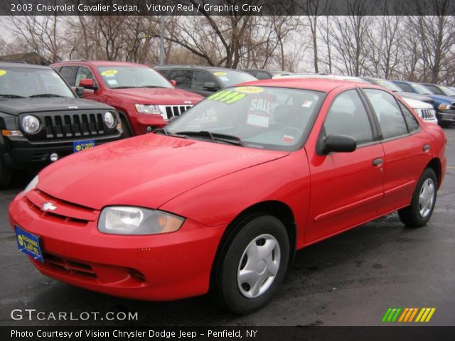 Chevy Cavalier Red Paint