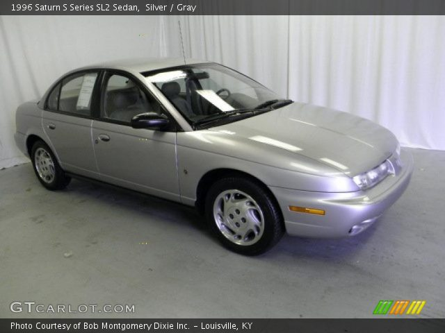 1996 Saturn S Series SL2 Sedan in Silver