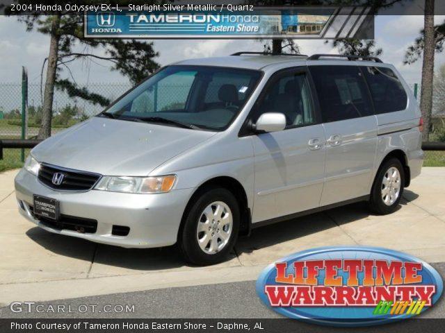 Starlight Silver Metallic - 2004 Honda Odyssey EX-L - Quartz Interior ...