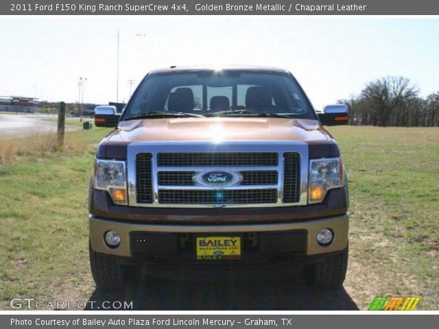 2011 Ford F150 King Ranch SuperCrew 4x4 in Golden Bronze Metallic