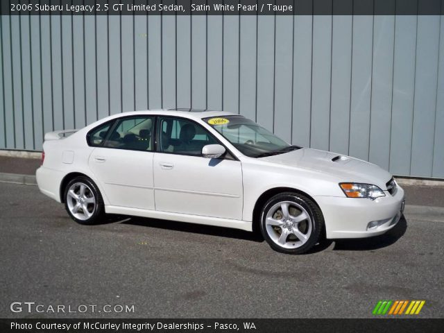satin white pearl 2006 subaru legacy 2 5 gt limited. Black Bedroom Furniture Sets. Home Design Ideas